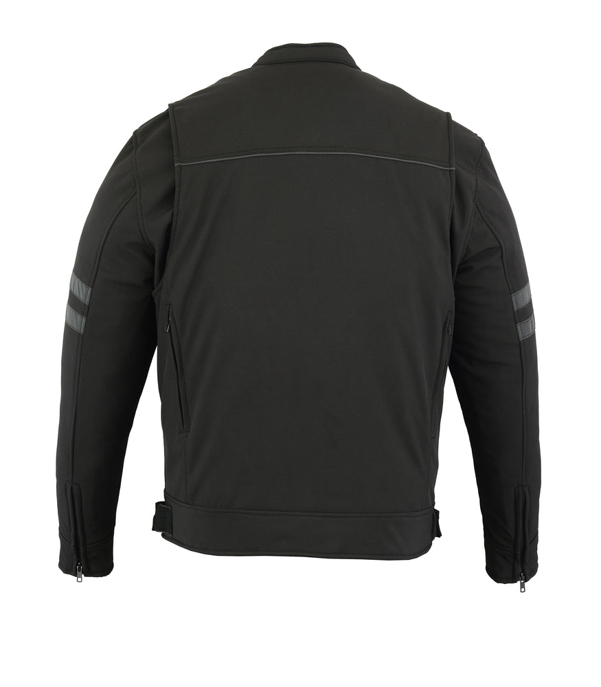 Men's DS703 All Season Reflective Water Resistant Riding Jacket