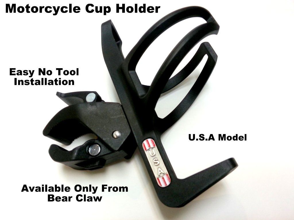 U.S.A. Motorcycle Cup Holder