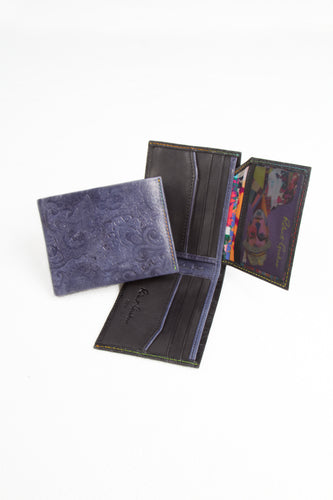 Dark Blue Wallet, Robert Graham