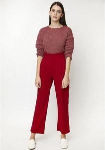 Red High-Rise Trousers, Compañía Fantástica