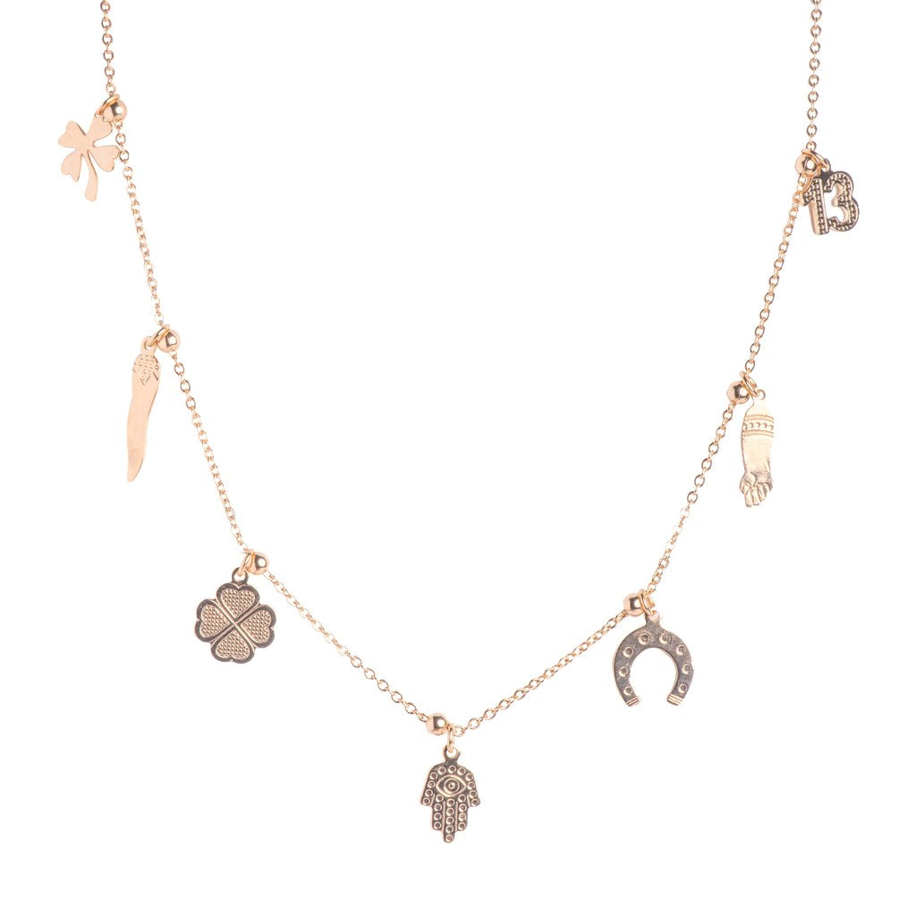 Lucky Charm Necklace, M16 Jewelry