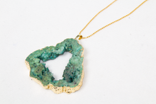 Load image into Gallery viewer, Green necklace, Carolina