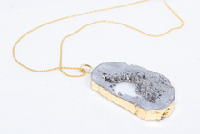 Load image into Gallery viewer, Grey Carolina Necklace