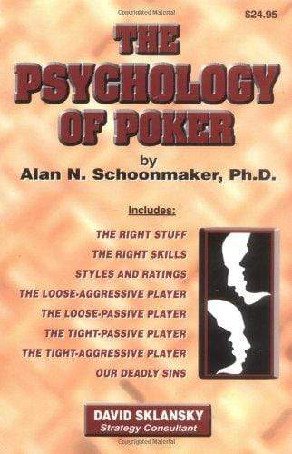 Marissa's Books & Gifts, LLC 1880685256 The Psychology of Poker