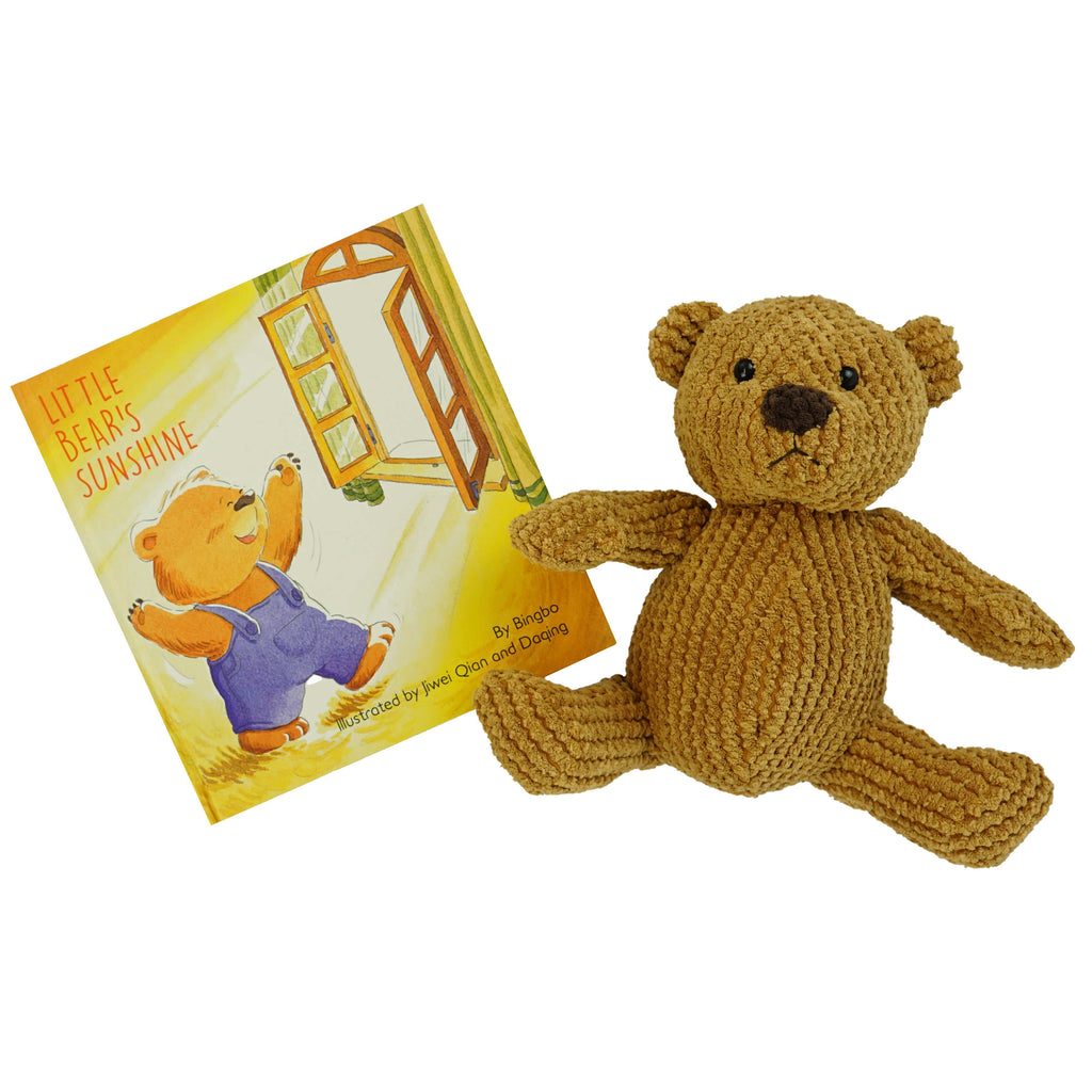 Marissa's Books & Gifts, LLC 4157329719 Little Bear Sunshine Plush Toy and Book Set