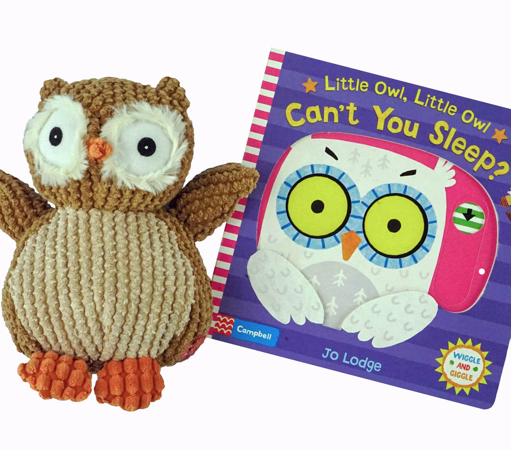 Marissa's Books & Gifts, LLC 4157329727 Little Owl Bedtime Plush Toy and Book Set