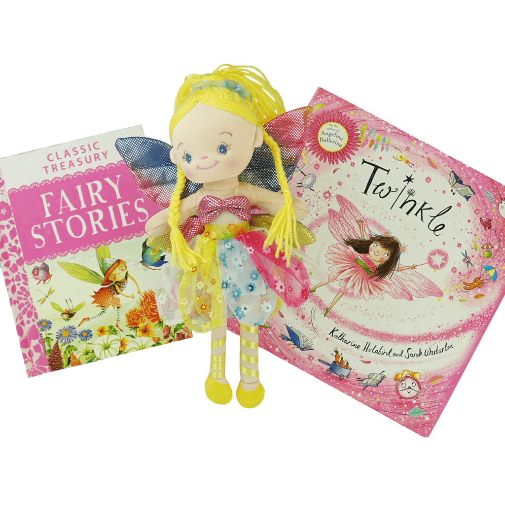 Marissa's Books & Gifts, LLC 4157329732 Fairy Magic Plush Toy and Book Set