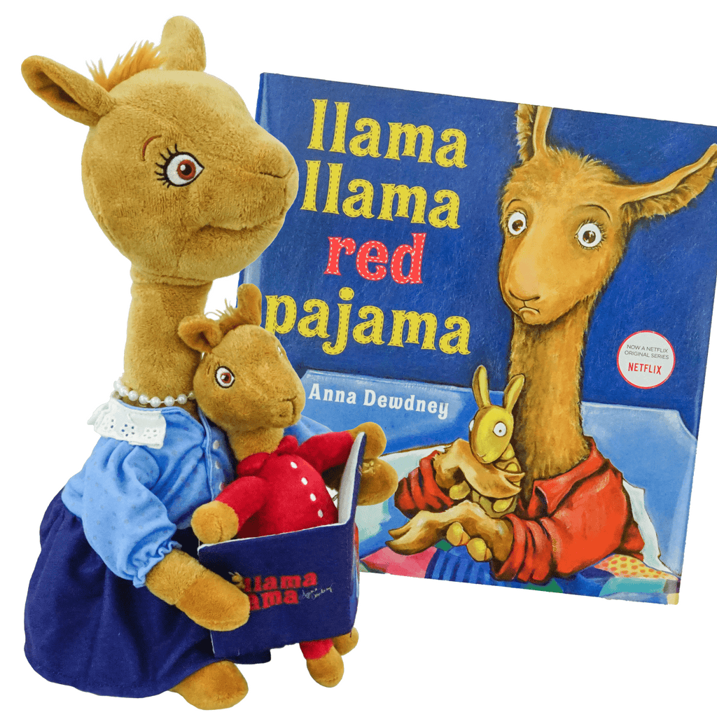 Marissa's Books & Gifts, LLC 421643392567 Read to Me Llama Llama Red Pajama Set