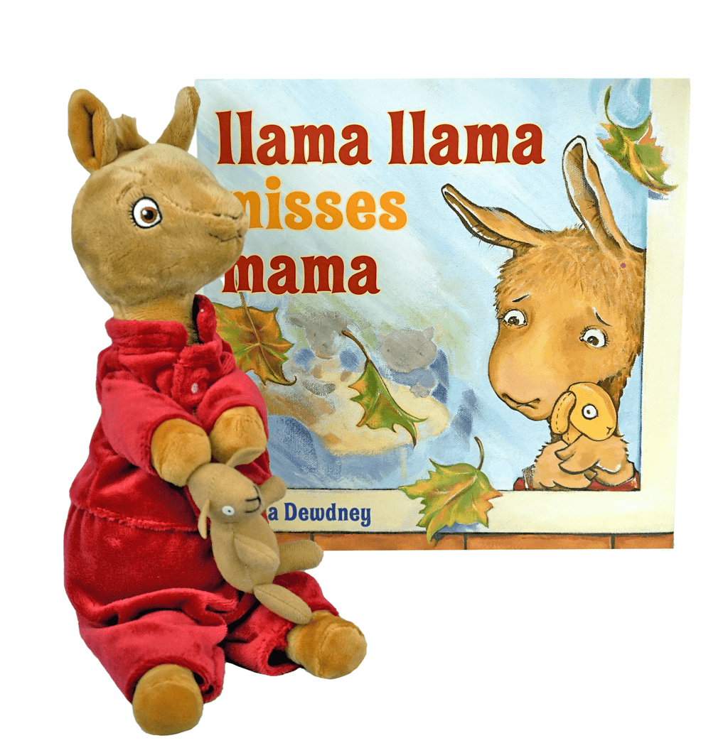 "Marissa's Books & Gifts, LLC 465278658533 ""Llama Llama Misses Mama"" Plush Talking Toy Set"