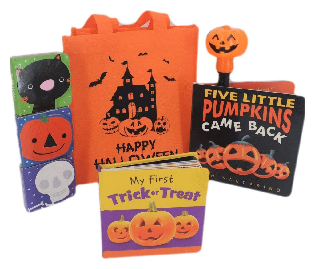 Marissa's Books & Gifts, LLC 50244425 Orange Little Boo! Halloween Gift Bag