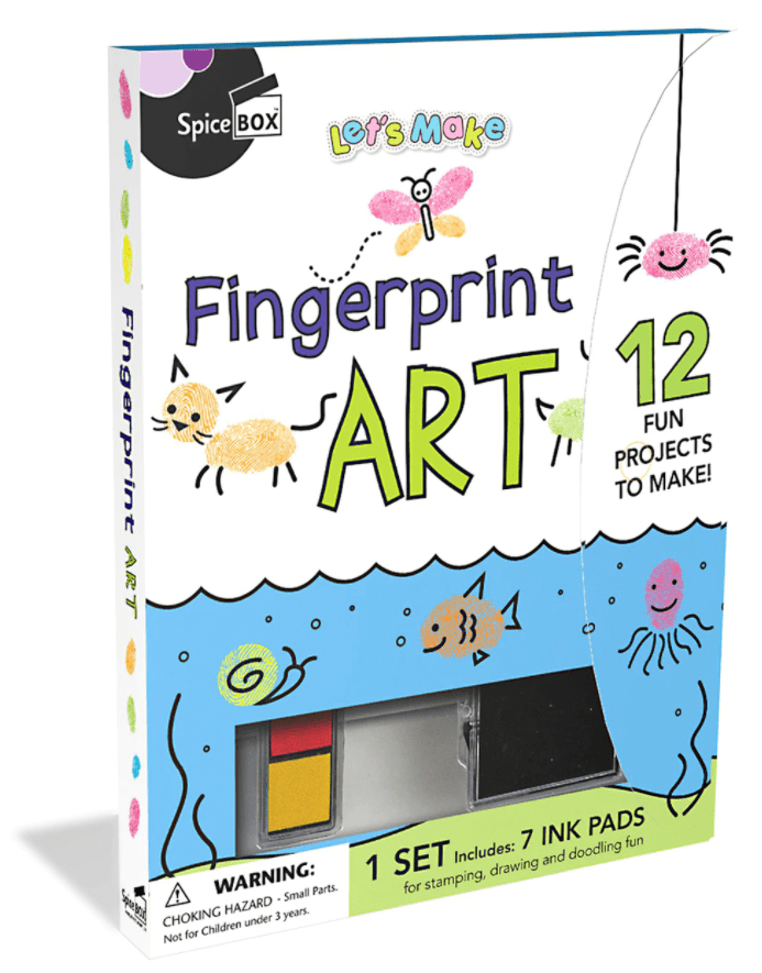 Marissa's Books & Gifts, LLC 628992009995 Let's Make Fingerprint Art