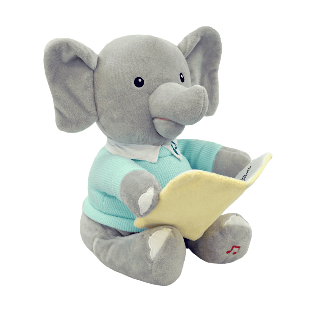 "Marissa's Books & Gifts, LLC 82308681 ""The Itsy Bitsy Spider"" Plush Singing Elephant Set"