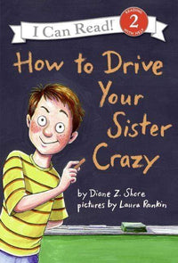 Marissa's Books & Gifts, LLC 9780060527624 How to Drive Your Sister Crazy