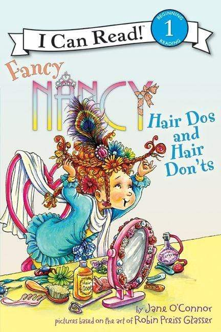 Marissa's Books & Gifts, LLC 9780062001801 Fancy Nancy: Hair Dos and Hair Don'ts