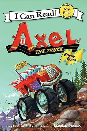 Marissa's Books & Gifts 9780062222329 Axel the Truck: Rocky Road