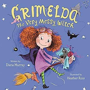 Marissa's Books & Gifts, LLC 9780062264480 Grimelda: The Very Messy Witch