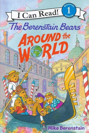 Marissa's Books & Gifts, LLC 9780062350244 Berenstain Bears Around The World (I Can Read - Level 1)