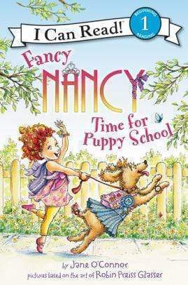 Marissa's Books & Gifts 9780062377876 Fancy Nancy: Time for Puppy School