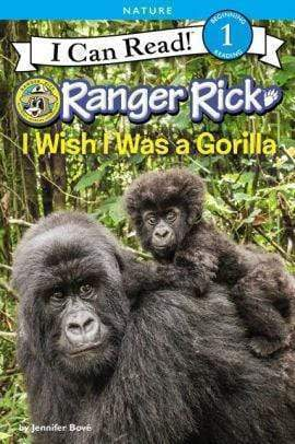 Marissa's Books & Gifts, LLC 9780062432117 Ranger Rick: I Wish I Was A Gorilla (i Can Read Level 1)