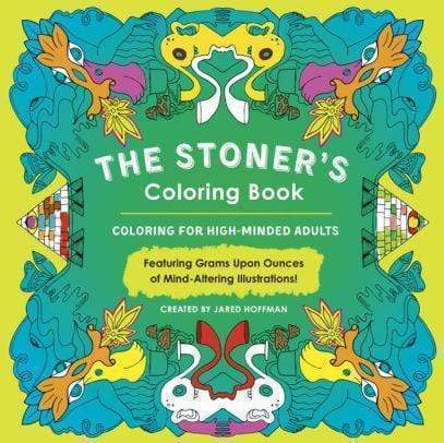 Marissa's Books & Gifts 9780143130291 The Stoner's Coloring Book