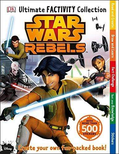 Marissa's Books & Gifts, LLC 9780241183526 Star Wars Rebels Ultimate Factivity Collection