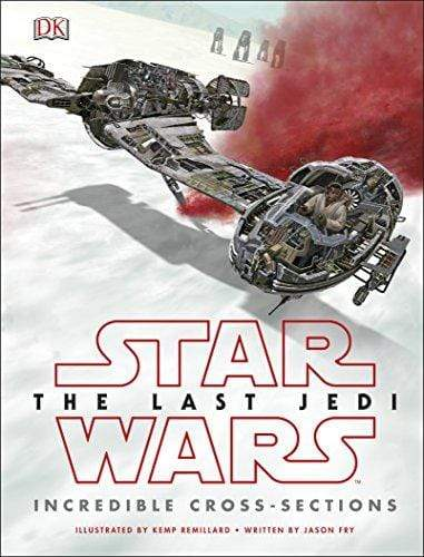 Marissa's Books & Gifts, LLC 9780241281079 Star Wars The Last Jedi Incredible Cross Sections