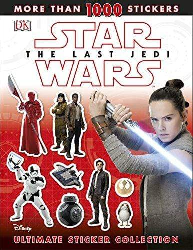 Marissa's Books & Gifts, LLC 9780241281086 Star Wars The Last Jedi: Ultimate Sticker Collection