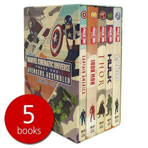 Marissa's Books & Gifts, LLC 9780316301060 Marvel Cinematic Universe: Phase One Book Boxed Set: Avengers Assembled