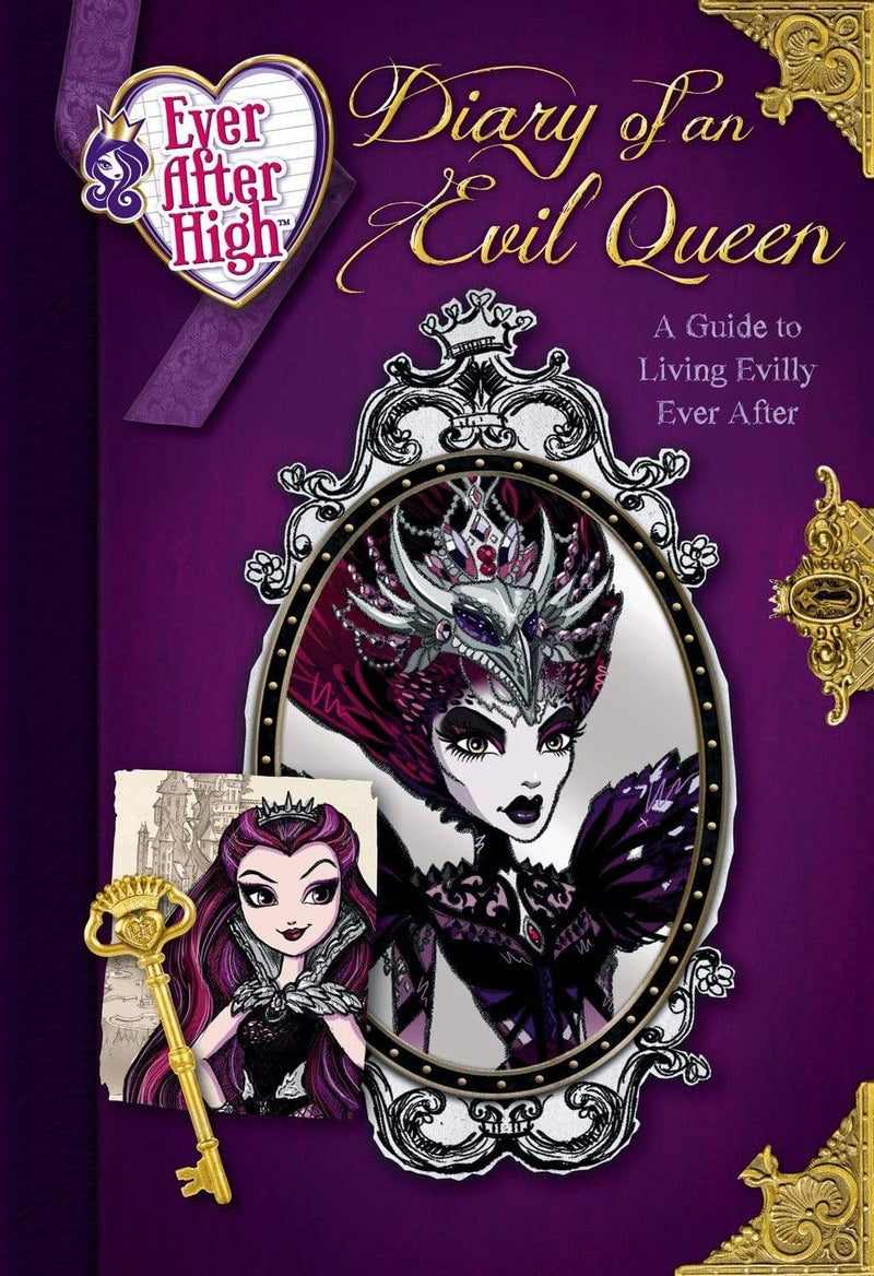 Marissa's Books & Gifts 9780316389952 Ever After High: Diary of an Evil Queen: A Guide to Living Evilly Ever After