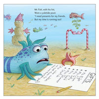 Marissa's Books & Gifts, LLC 9780374355494 The Not Very Merry Pout-pout Fish (a Pout-pout Fish Adventure)