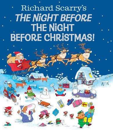 Marissa's Books & Gifts, LLC 9780385388047 The Night Before the Night Before Christmas! (Richard Scarry)