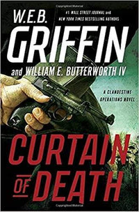 Marissa's Books & Gifts, LLC 9780399176739 Curtain of Death (A Clandestine Operations Novel)