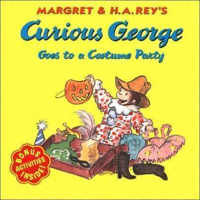 Marissa's Books & Gifts, LLC 9780618065691 Curious George Goes to a Costume Party