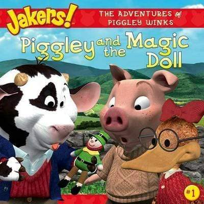 Marissa's Books & Gifts, LLC 9780689876110 Piggley and the Magic Doll