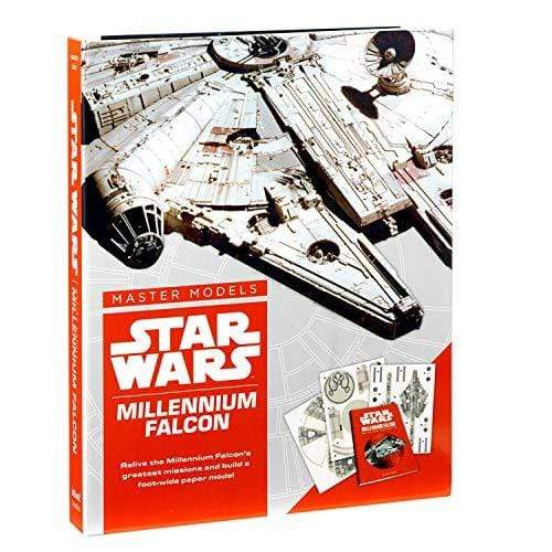 Marissa's Books & Gifts, LLC 9780760355060 Star Wars Master Models Millennium Falcon: Relive the Millennium Falcon's greatest missions and build a foot-wide paper model