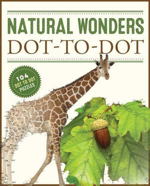Marissa's Books & Gifts, LLC 9780785834489 Natural Wonders Dot-to-dot: 104 Dot-to-Dot Puzzles