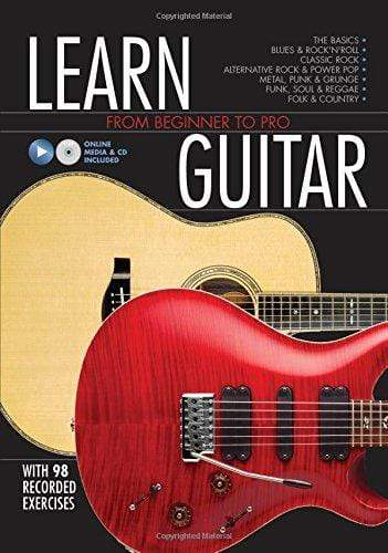 Marissa's Books & Gifts, LLC 9780785835134 Learn Guitar: From Beginner to Pro