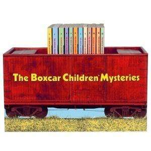 Marissa's Books & Gifts, LLC 9780807508558 The Boxcar Children Bookshelf (The Boxcar Children Mysteries, Books 1-12)