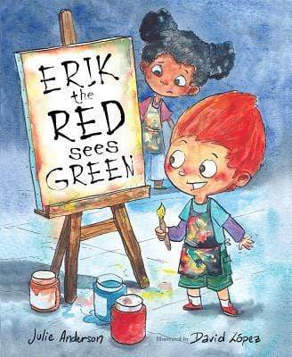 Marissa's Books & Gifts, LLC 9780807521410 Erik The Red Sees Green: A Story About Color Blindness