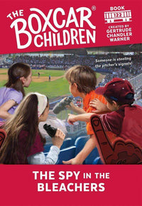 Marissa's Books & Gifts, LLC 9780807576076 The Spy in the Bleachers (The Boxcar Children Mysteries #122)