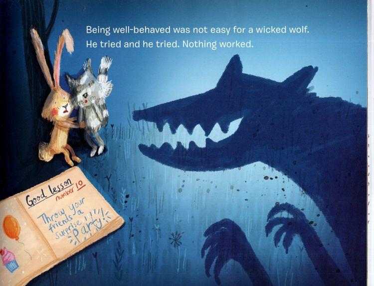 Marissa's Books & Gifts, LLC 9780807592045 The Wolf Who Learned to Be Good