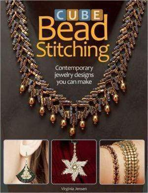 Marissa's Books & Gifts 9780871162816 Cube Bead Stitching: Contemporary Jewelry Designs You Can Make