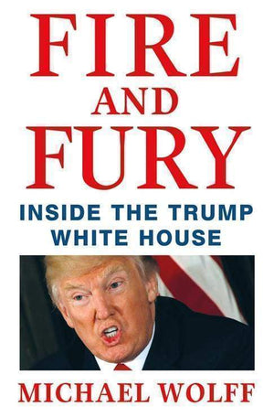 Marissa's Books & Gifts 9781250158062 Fire and Fury