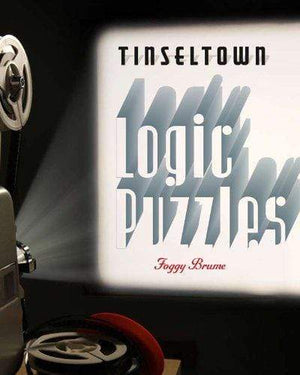 Marissa's Books & Gifts, LLC 9781402796401 Tinseltown Logic Puzzles
