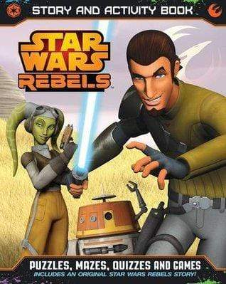 Marissa's Books & Gifts, LLC 9781405275866 Star Wars Rebels: Story and Activity Book