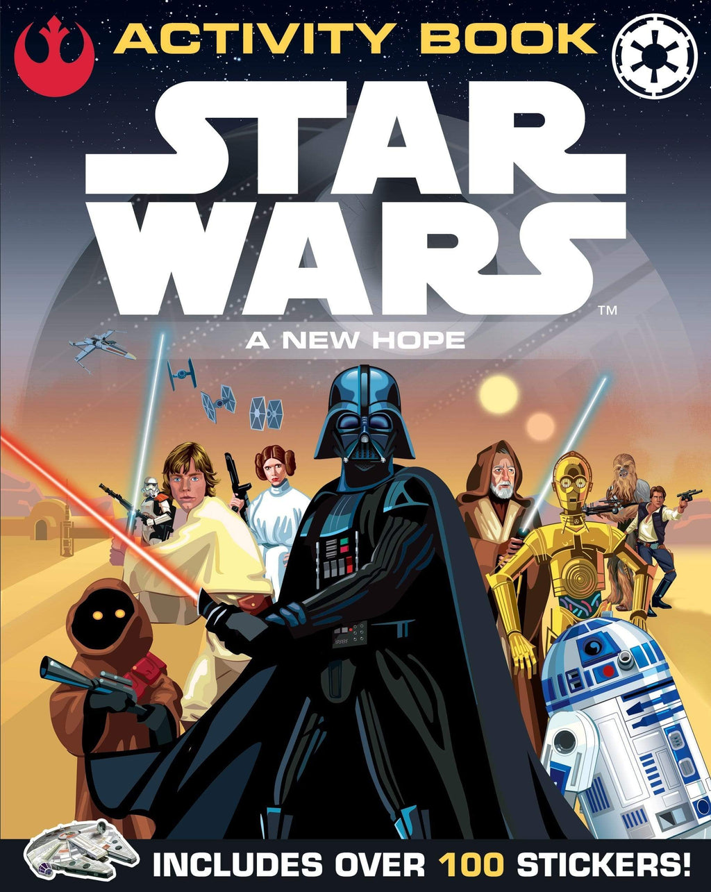 Marissa's Books & Gifts, LLC 9781405278959 Star Wars A New Hope Activity Book