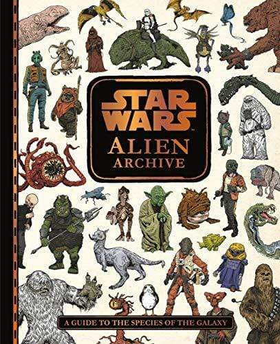 Marissa's Books & Gifts, LLC 9781405288477 Star Wars Alien Archive: A Guide To The Species Of The Galaxy