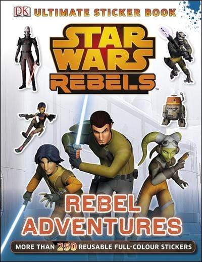 Marissa's Books & Gifts, LLC 9781409356516 Star Wars Rebels Rebel Adventures Ultimate Sticker Book (ultimate Stickers)