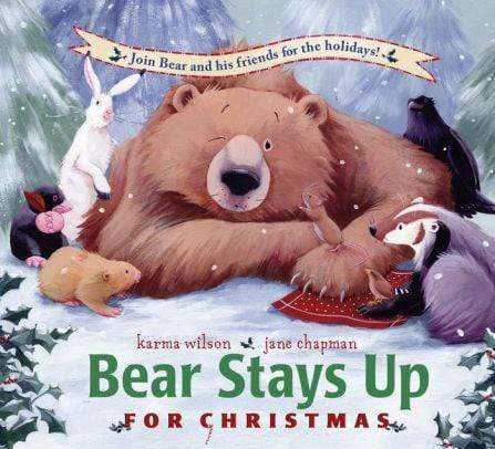 Marissa's Books & Gifts, LLC 9781416958963 Bear Stays Up for Christmas