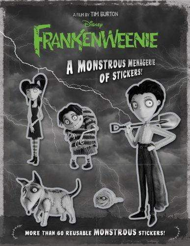 Marissa's Books & Gifts 9781423176930 Frankenweenie: A Monstrous Menagerie of Stickers!
